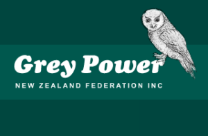 The Grey Power logo