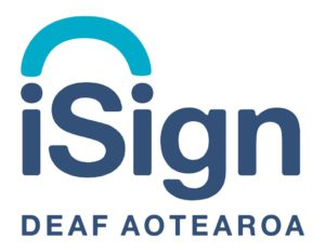The iSign logo