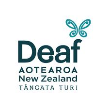 The Deaf Aotearoa logo