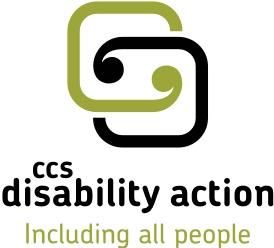The CCS Disability Action logo